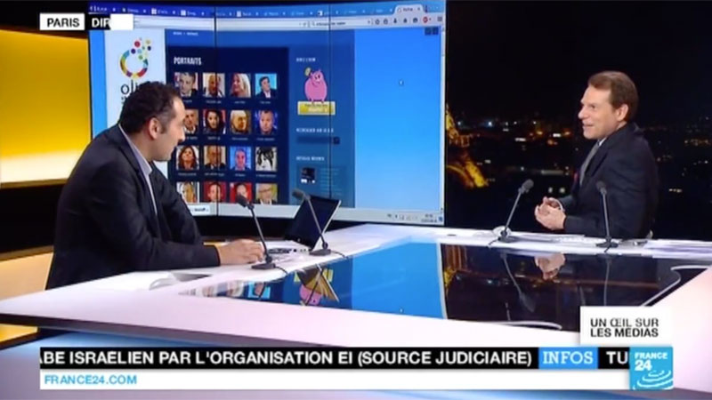 France 24 assimile impunément l'Ojim au Front national
