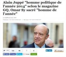 Alain Juppé, la droite admissible, selon les critères du HuffPost.