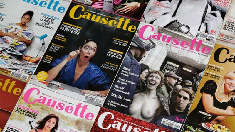 Le journal féministe Causette sauvé in extremis