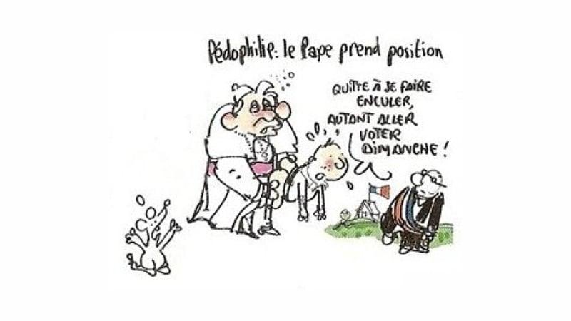 Dessin de Benoît XVI : Plantu assure avoir voulu « défendre les catholiques »