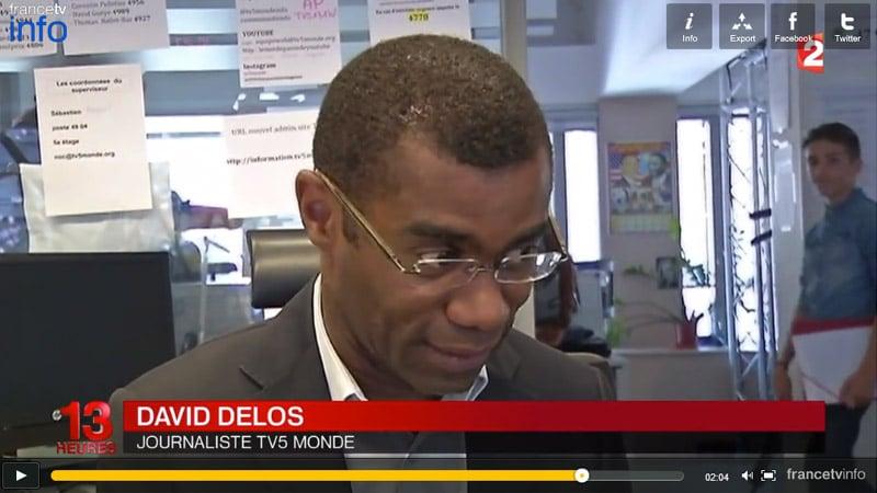 Quand TV5 Monde affiche ses mots de passe à la télévision...