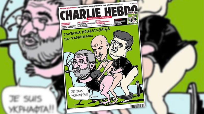 Le faux lancement de Charlie Hebdo en Ukraine fait du bruit