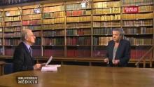 « Bibliothèque Médicis », émission littéraire qu'il anime toujours aujourd'hui