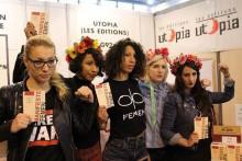 Mars 2015, à la présentation du livre-manifeste des Femen