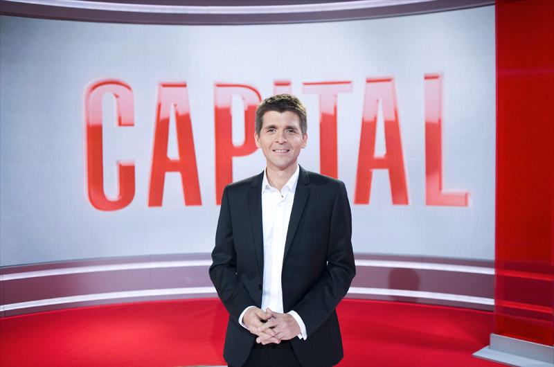 Thomas Sotto, à l'époque de Capital © photo : M6