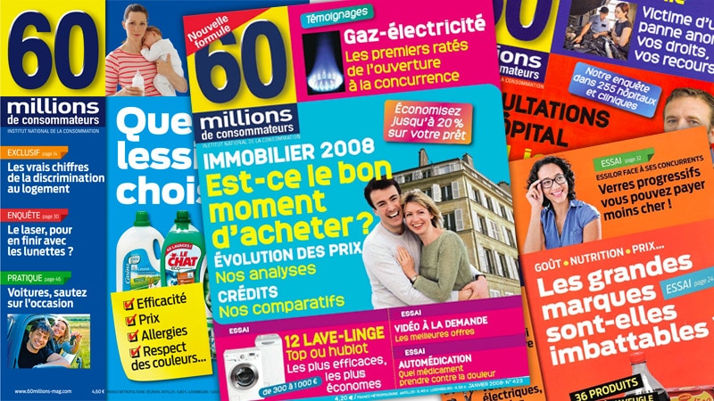Le personnel de 60 Millions de consommateurs inquiet pour l'avenir du magazine