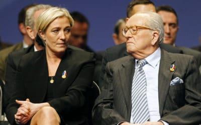 Elkabbach aurait soutenu Jean-Marie Le Pen face à safille