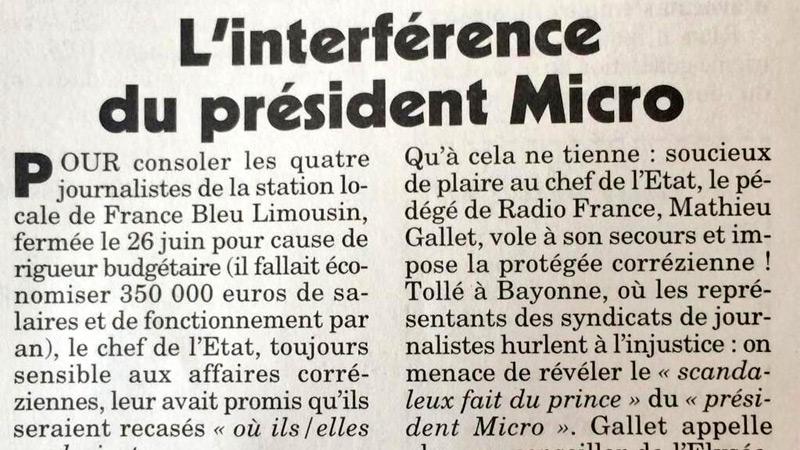 Une journaliste corrézienne pistonnée par François Hollande