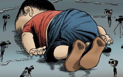 Le petit Alan Kurdi, otage médiatique : de l'image choc à l'arrière-plan