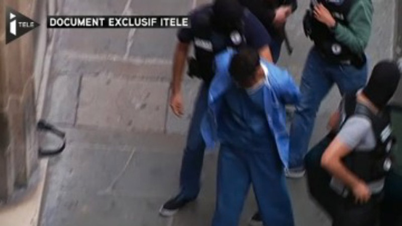 I-Télé mis en garde pour avoir montré El-Khazzani menotté