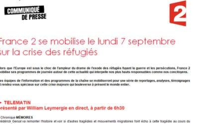 France 2 met le paquet sur la crise des « réfugiés »