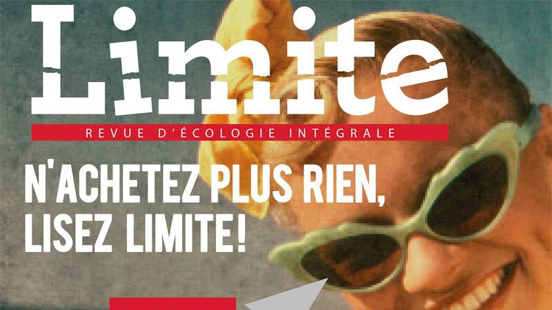 Limite : naissance d'une revue qui fait bouger les lignes