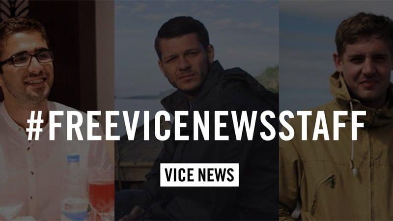 Turquie : Les deux journalistes de Vice News libérés