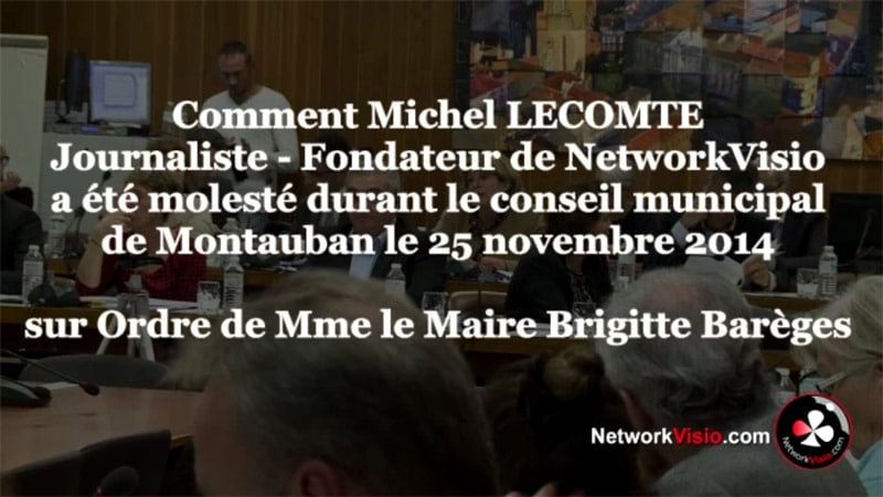 Montauban : expulsé du conseil municipal un journaliste est jugé pour outrages