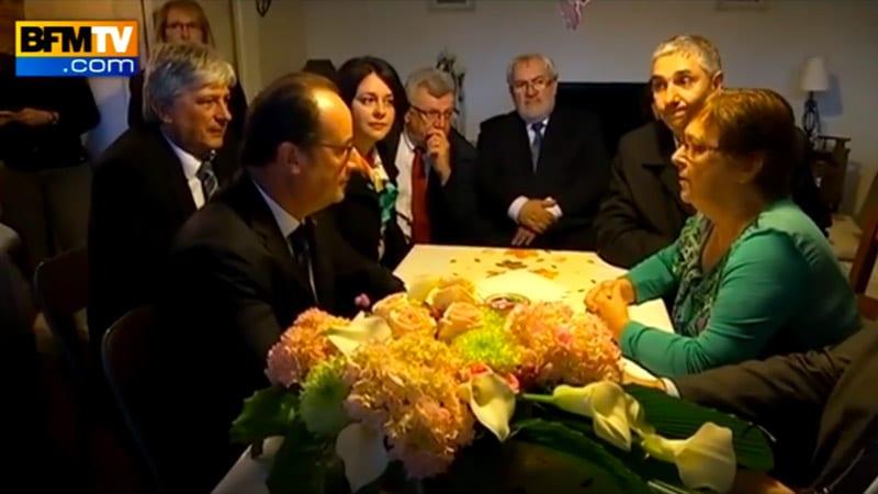 Hollande chez Lucette : mensonges sur toute la ligne