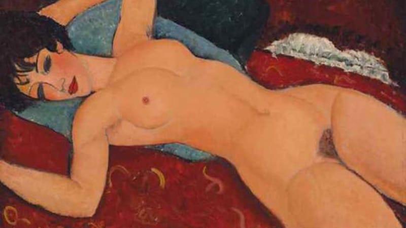 Les médias américains floutent un nu de Modigliani