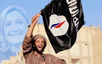La dernière cartouche de la propagande médiatique : Daech et FN, même combat !