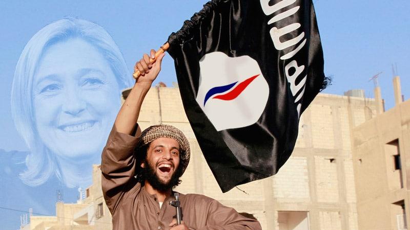 La dernière cartouche de la propagande médiatique : Daech et FN : même combat !