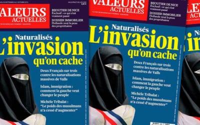 Marianne voilée : Valeurs Actuelles condamné enappel