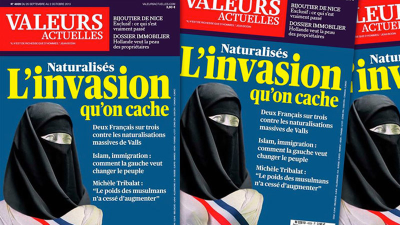 Marianne voilée : Valeurs Actuelles condamné en appel