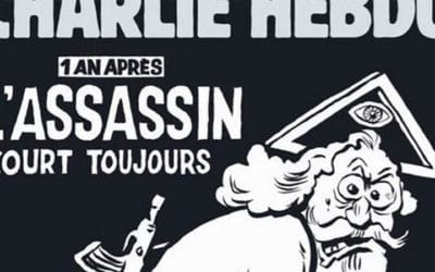 Un an après les attentats, Charlie Hebdo fustige le Dieu des « culs-bénits » !