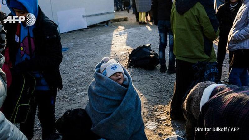 Migrants : après Cologne l'AFP continue à ne voir que des femmes et des enfants…