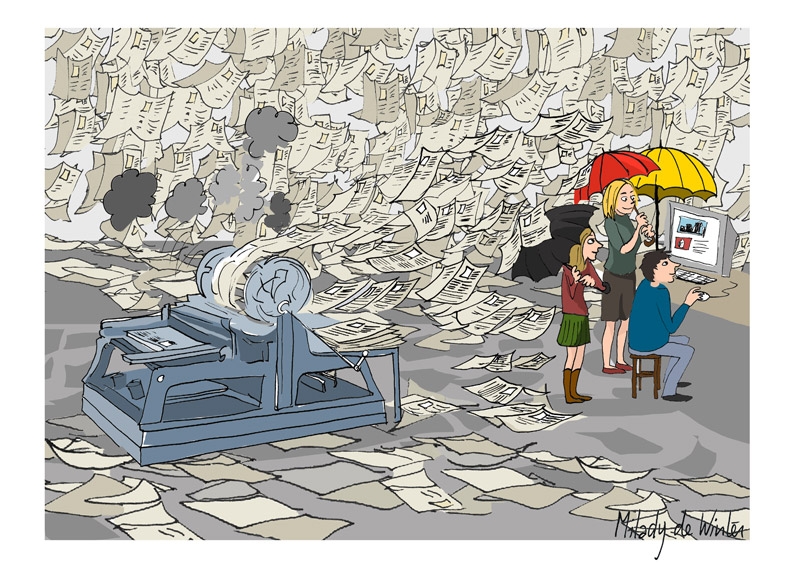 """<span class=""""dquo"""">«</span> Lügenpresse » : la confiance entre médias et citoyens allemands est rompue"""