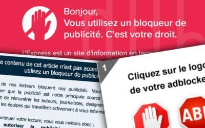 Vaste offensive des médias contre les bloqueurs de publicité
