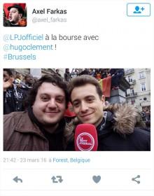Le Petit Journal de Canal+ a employé le même homme, comédien de son métier.