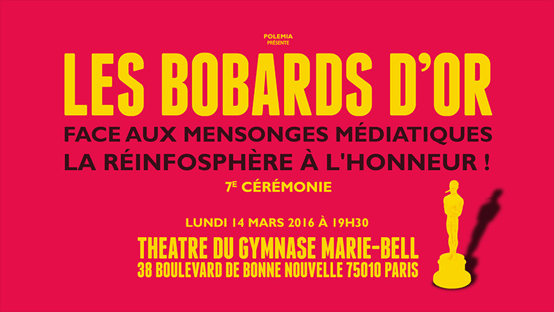 Les Bobards d'or reviennent