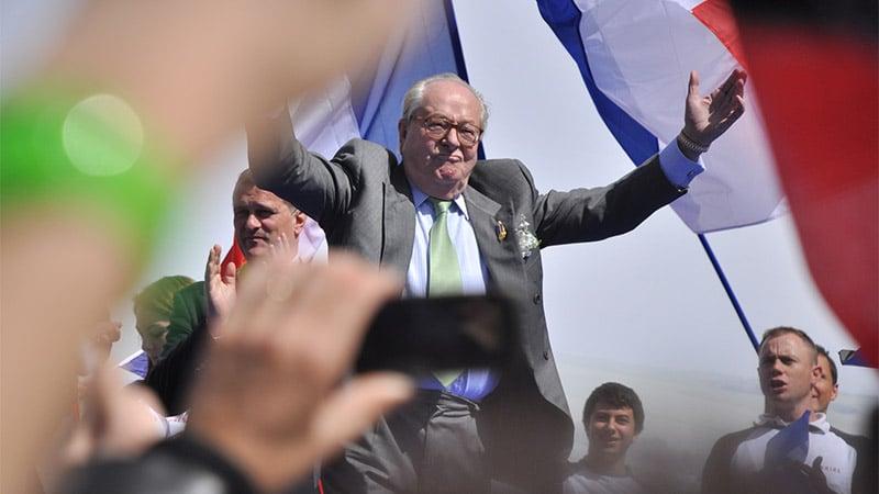 Le CSA exclut Jean-Marie Le Pen du temps de parole du FN