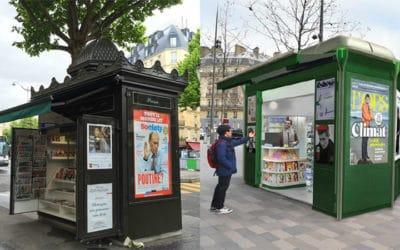Paris : levée de boucliers contre le remplacement des kiosques haussmanniens