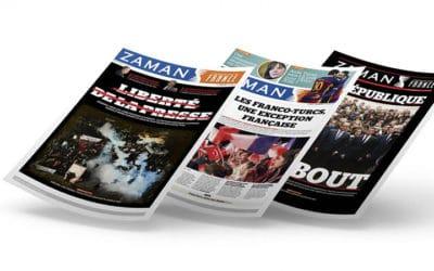 L'édition française du journal turc Zaman arrête sa parution suite à des menaces