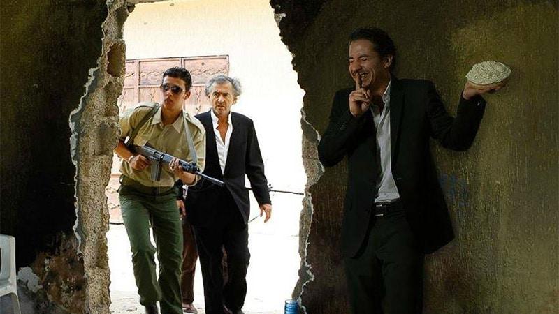Irak : Quand BHL refuse de faire monter un journaliste dans son véhicule blindé
