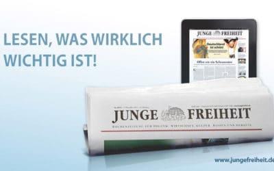 Junge Freiheit (Jeune liberté) : l'irrésistible ascension d'un journal dissident dans la droite allemande