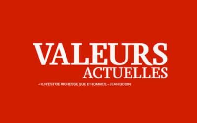 Valeurs Actuelles chez Sonia Devillers et France Inter