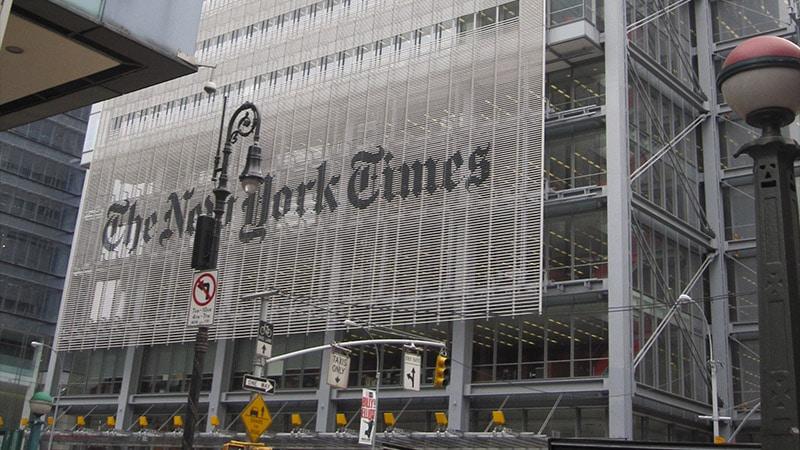 Élections américaines : le New York Times s