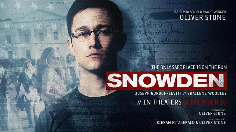 Edward Snowden, héros moderne et modeste du film d'Oliver Stone
