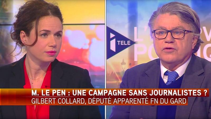 Myriam Encaoua reconnaît sur i>Télé que les médias « brouillent » le message du FN