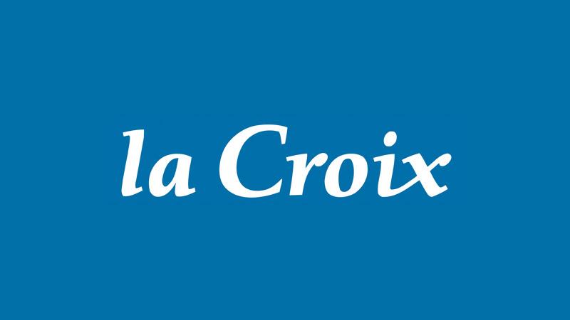 La Croix : peace and love à Saint-Denis
