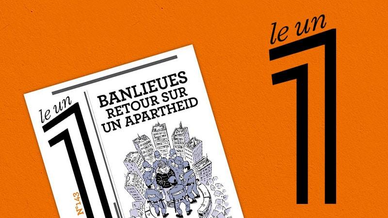 L'hebdo Le 1  et Les Césars combattent l'apartheid