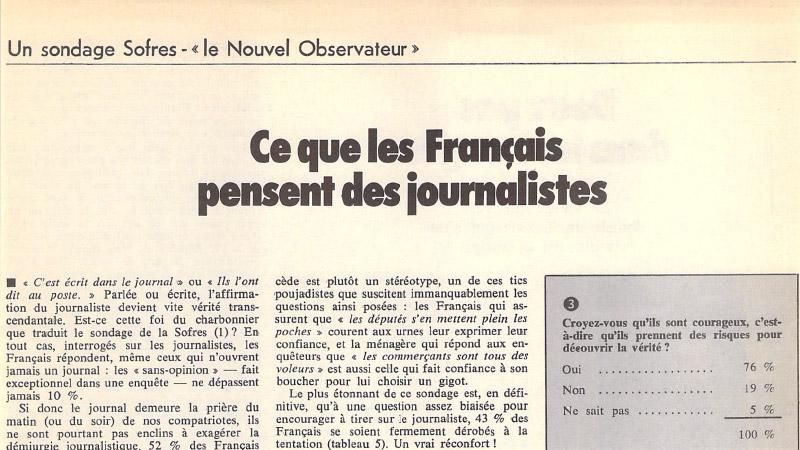 Quand les français aimaient leurs médias