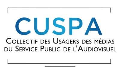 Le Collectif des Usagers du service public de l'audiovisuel saisit leCSA