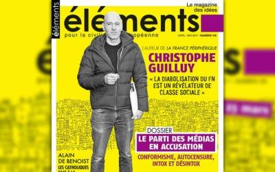 La revue Éléments publie un numéro sur les médias
