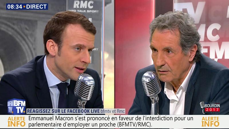 Marine Le Pen accuse BFMTV de soutenir Macron « de manière éhontée »