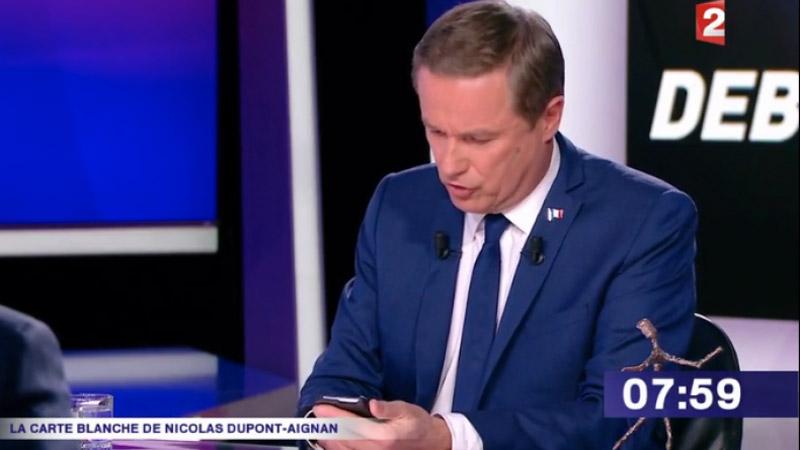 Dupont Aignan dévoile en direct les pressions reçues de Serge Dassault (Figaro)