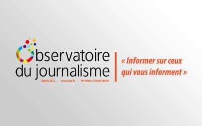 Observatoire du journalisme, médias et finances