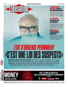 Libération, 25/09/2017