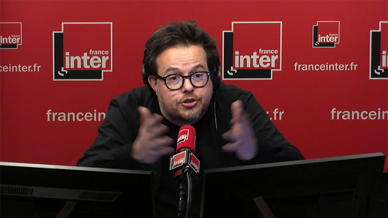 Nicolas Demorand, un militant sur France Inter