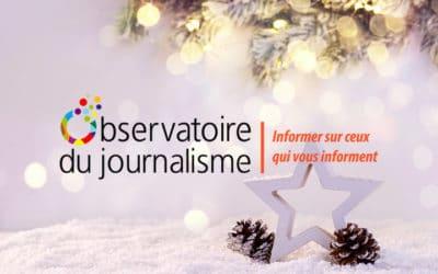Fêtez Noël avec l'Observatoire du journalisme!